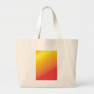 Plain Orange Gold Red Shade Tote Bags
