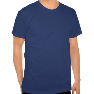 Plain Pacific Blue Men's Fitted Crew Neck T-shirt