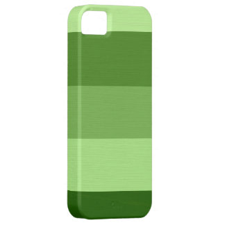 Plain Pale Green Stripes iPhone 5 Cases