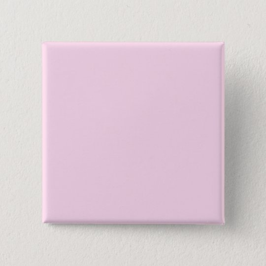 Plain Pink Background 15 Cm Square Badge
