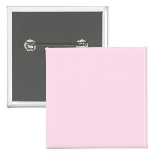 Plain Pink Background 15 Cm Square Badge
