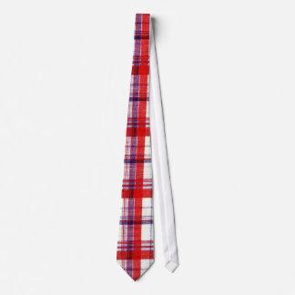 Plain Plaid 2g Tie