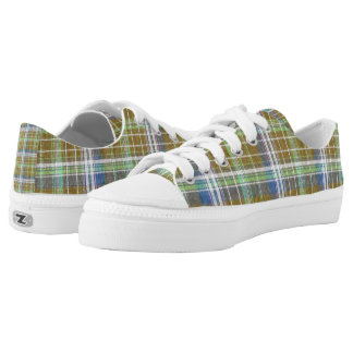 Plain Plaid 3b Printed Shoes