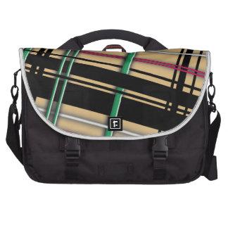 Plain Plaid Laptop Bag