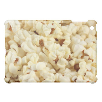 Plain popcorn close up. iPad mini covers