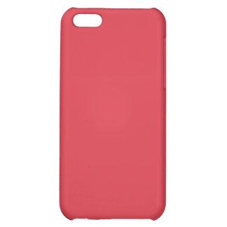 Plain Poppy Red iPhone 5 Case