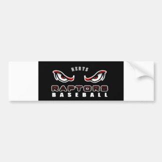 Plain Raptors bumper sticker. Bumper Sticker