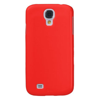 Plain RED : Buy BLANK or Add TEXT n IMAGE lowprice Samsung Galaxy S4 Covers