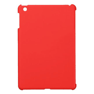 Plain RED Buy BLANK or Add TEXT n IMAGE lowprice Cover For The iPad Mini