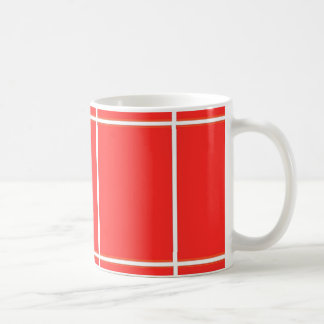 Plain RED : Buy BLANK or Add TEXT n IMAGE lowprice Basic White Mug