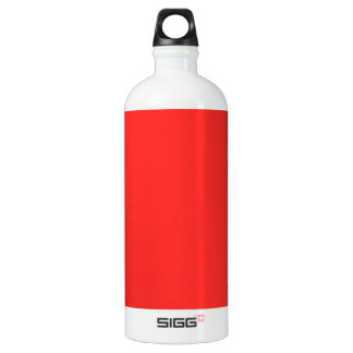 Plain RED : Buy BLANK or Add TEXT n IMAGE lowprice SIGG Traveller 1.0L Water Bottle