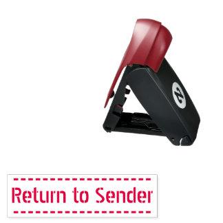 """Plain """"Return to Sender"""" Rubber Stamp"""