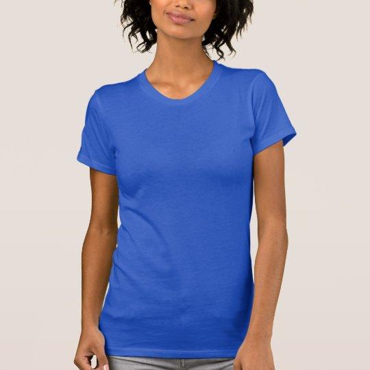 Plain royal blue t-shirt for women, ladies