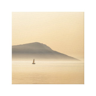 Plain Sailing Canvas Print