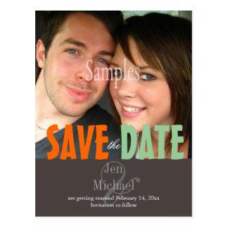 Plain, Save the Date Photo postcards, Postcard