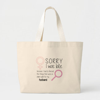 PLAIN-SIGHT LARGE TOTE BAG