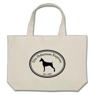 Plain Silhouette Doberman Express Bag