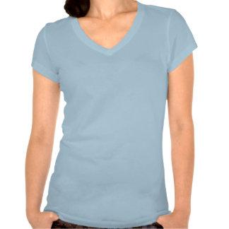 Plain sky blue t-shirt for women, ladies