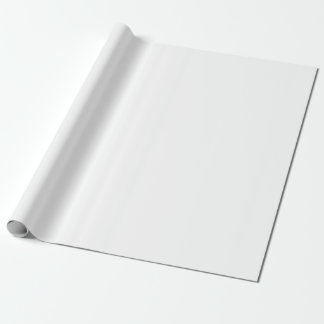 PLAIN SOLID WHITE | WRAPPING PAPER
