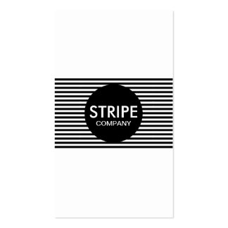 plain stripe company Double-Sided standard business cards (Pack of 100)
