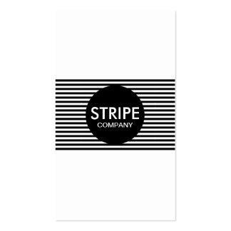 plain stripe company business card