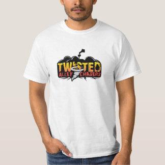 Plain T-shirt with large logo