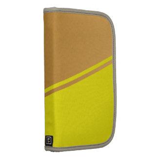 Plain Trendy Dual Color Modern Contemporary Design Folio Planner