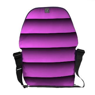 Plain Two Tone Pink Messenger Bag