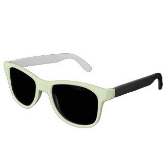 Plain Watermelon Green sunglasses black
