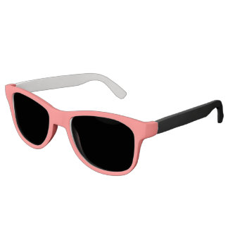 Plain Watermelon Pink sunglasses black