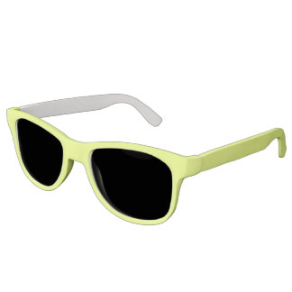Plain Watermelon Yellow Green sunglasses
