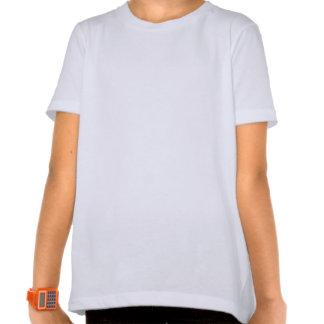 Plain white, black ringer t-shirt for girls