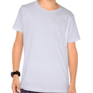Plain white, blue ringer t-shirt for kids