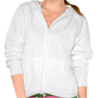 Plain white hoodie fleece for women ladies