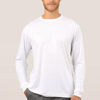 Plain White Mens Performance Long Sleeve T Shirts