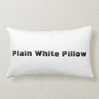 Plain White Pillow
