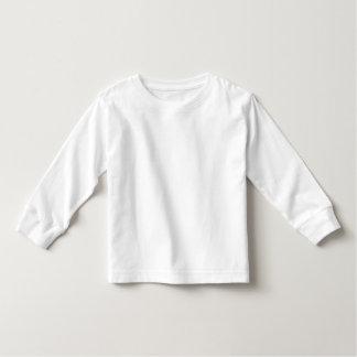 Plain white toddler long sleeve t-shirt for kids