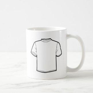 Plain White Tshirt Basic White Mug