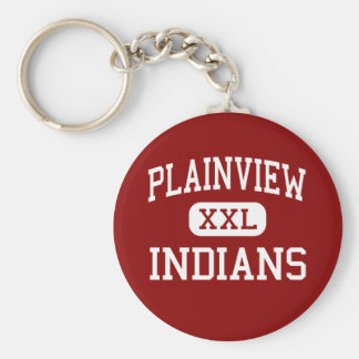 Plainview - Indians - High - Ardmore Oklahoma Key Ring