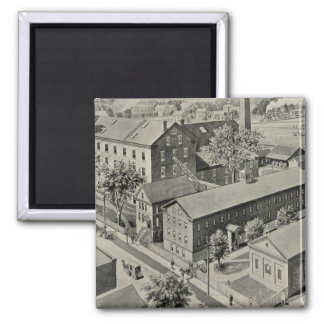 Plainville Connecticut Illustration Magnet