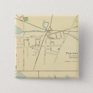 Plainville, Warehouse Pt, Windsor 15 Cm Square Badge