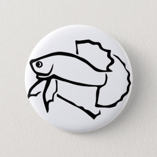 Plakat betta 6 cm round badge