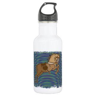 Plalyful Brown HORSE Sketch 532 Ml Water Bottle
