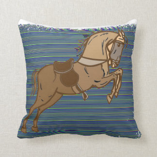 Plalyful Brown HORSE Sketch Cushions
