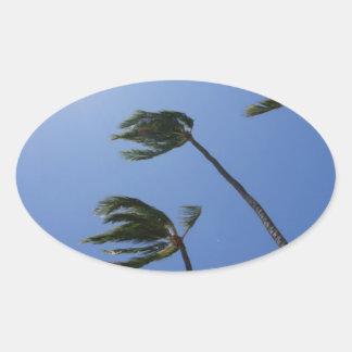 Plamen Oval Sticker