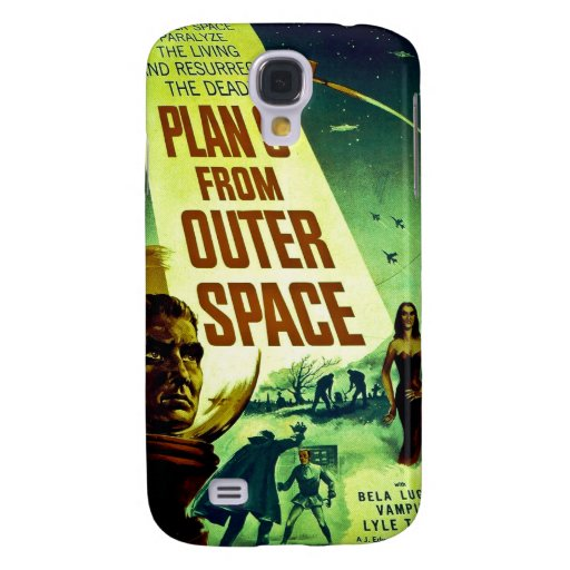 Plan 9 From Outer Space Samsung Galaxy S4 Case