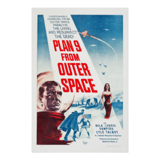 Plan 9 From Outer Space - Classic Movie Poster