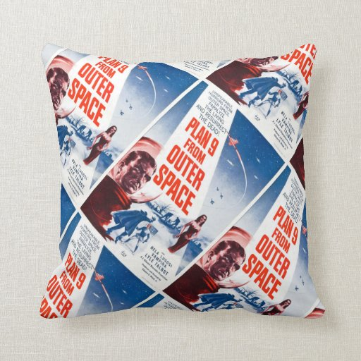 Plan 9 From Outer Space Pillow