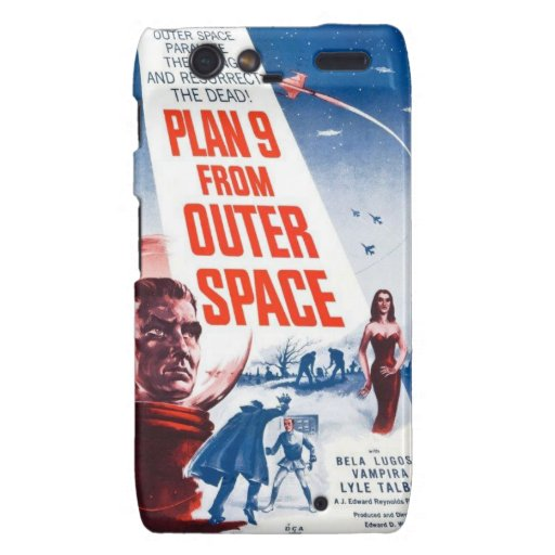 Plan 9 From Outer Space Droid RAZR Case
