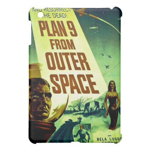Plan 9 From Outer Space iPad Mini Case